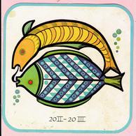 Sticker - Horoscoop - Vissen - 20 II -20 III - Stickers