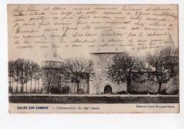 4 - SOLRE -SUR - SAMBRE  -  Le Château - Fort Du 12e Siècle - Erquelinnes