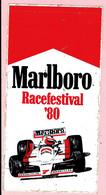Sticker - Marlboro - Racefestival 1980 - Circuit Zandvoort - Stickers
