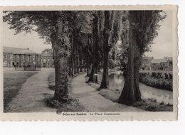 6 - SOLRE -SUR - SAMBRE  -  La Place Communale - Erquelinnes