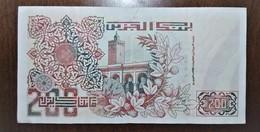 BANKNOTE ALGERIA - Algerije
