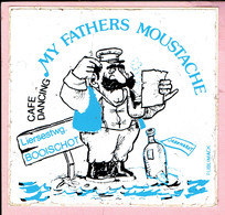 Sticker - CAFE DANCING - MY FATHERS MOUSTACHE - Liersesteenweg BOOISCHOT - Jaarmarkt - Autocollants
