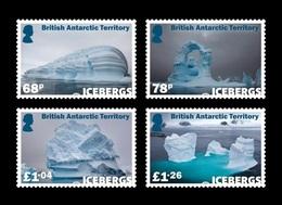 BAT 2019 Mih. 815/18 Icebergs MNH ** - Britisches Antarktis-Territorium  (BAT)