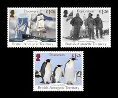 BAT 2019 Mih. 825/27 Discovery Of Antarctica. Ships. Fauna. Penguins MNH ** - Britisches Antarktis-Territorium  (BAT)