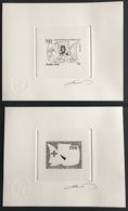 #C033 - Saint-Pierre Et Miquelon 1992 YT 569, 500me Découverte Amérique C. Colomb EPA Epreuve Artiste + Epreuve Report - Sin Dentar, Pruebas De Impresión Y Variedades