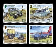 Falkland Islands 2019 Mih. 1406/09 Automobiles. Land Rover Vehicles. Lighthouse. Aircraft MNH ** - Falkland