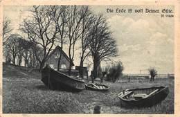DIE ERDE IST VOLL DEINER GÜTER~PSALM 119 VERSE 64~1930 GERMANY BIBLE POSTCARD 43146 - Other