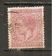 España/Spain-(usado) - Edifil  188 - Yvert  Impuesto De Guerra-10 (o) - Impuestos De Guerra