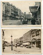 2 CP 1914 & 1945 * NIORT La Rue Victor Hugo - Niort