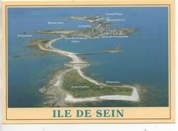 CP ( L°Ile De Sein En Vue Panoramique ) - Ile De Sein