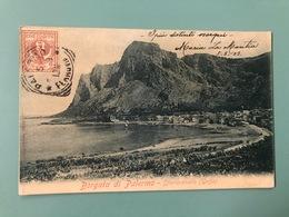 BORGATA DI PALERMO  SFERRACAVALLO (GOLFO) 1903 - Palermo