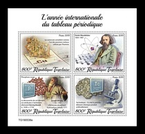 Togo 2019 Mih. 10792/95 Chemistry. International Year Of The Periodic Table. Dmitri Mendeleev MNH ** - Togo (1960-...)