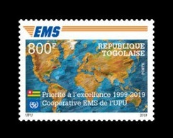 Togo 2019 Mih. 10826 EMS Postal Service MNH ** - Togo (1960-...)