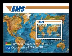 Togo 2019 Mih. 10827 (Bl.1959) EMS Postal Service MNH ** - Togo (1960-...)