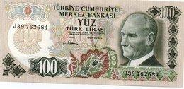 TURKEY=1970    100  LIRA     P-189    UNC - Turchia
