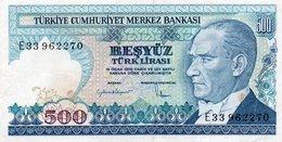 TURKEY=1970    500  LIRA     P-195    UNC - Turquia