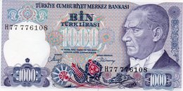 TURKEY=1970    1000  LIRA     P-196    UNC - Turquia