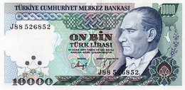 TURKEY=1970    10.000  LIRA     P-199    UNC - Turkey