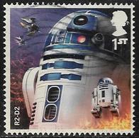 GB 2017 Star Wars 1st R2-D2 Good/fine Used [40/32620/ND] - 1952-.... (Elizabeth II)