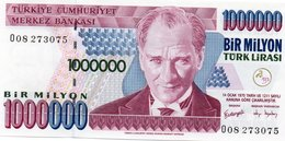 TURKEY=1970    1000.000  LIRA     P-213    UNC - Turquia