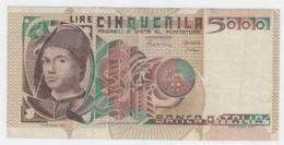Italy 5000 Lire 1980 VF+ Pick 105b 105 B - [ 2] 1946-… : Repubblica