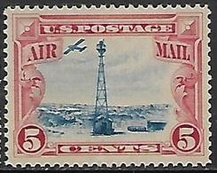 US  1928  Sc#C11  5c Airmail  MNH  2016 Scott Value $9.50 - 1b. 1918-1940 Nuovi