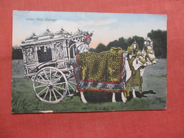 Indian State Carriage   Ref 3827 - India