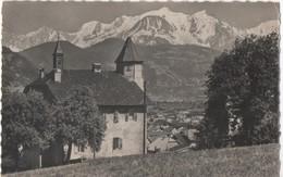 74 - SALLANCHES - Vue Sur La Chaine Du Mont Blanc - Voyagée 1967,#74/017 - Sallanches