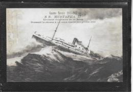 AK 0404  Guerre Navale 1914-1917 - S. S. Mustapha II. - Boats