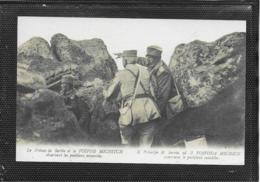 AK 0404  Le Prince De Serbie Et Le Voivod Michitsch Observant Les Positions Ennemies Um 1914-18 - War, Military