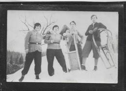 AK 0404  Rodelpartie In Kärnten - Motiv Um 1931 - Sports