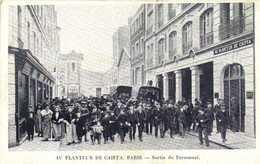PARIS AU PLANTEUR DE CAIFFA Sortie Du Personnel RV - Arrondissement: 14