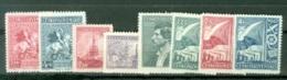 Tchécoslovaquie    Yvert  427/431  Et  440/442     * *  TB - Checoslovaquia