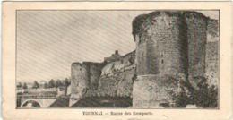 51bs 1618 CPA - TOURNAI - ROUTE DES REMPARTS  (7 X 14 Cm) - Tournai
