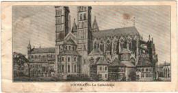 51bs 1619 CPA - TOURNAI - LA CATHEDRALE  (7 X 14 Cm) - Tournai