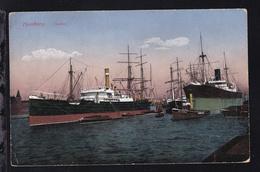 "Dampfer ""Tetuan"" Im Hamburger Hafen - Dampfer"