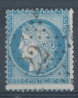 N°60 ETOILE DE PARIS CHIFFRE - 1871-1875 Cérès
