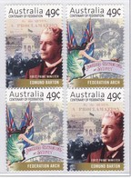 Australia 2001 Federation Sc1928a MNH Vert Pairs - Neufs