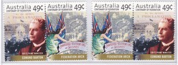 Australia 2001 Federation Sc 1928a MNH Horizontal Pairs - Mint Stamps