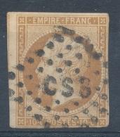 N°13 OBLITERATION LETTRE. - 1853-1860 Napoléon III