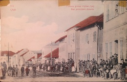 SERBIA.....Beograd, Belgrado.  Qub Rue Principale Dessous......Street Scene..... Ca. 1920/30? - Serbie