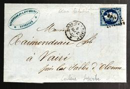 27009 - Ambulant BORDEAUX A PARIS  1° - Marcofilia (sobres)