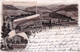 Deutschland - Gruss Aus WINKHAUSEN ( Schmallenberg ) Litho 1898 - Schmallenberg