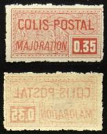 COLIS POSTAUX N° 20 Recto-verso Neuf N** TB Cote 50€ - Parcel Post