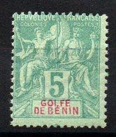 BENIN - YT N° 23 - Neuf * - MH - Cote: 10,00 € - Benin (1892-1894)