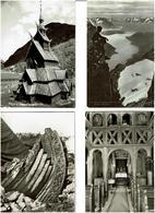 NORVEGE / Lot De 77 C.P.S.M. - Cartes Postales