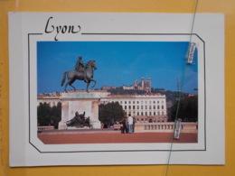 Kov 50-198 - FRANCE, LYON, STATUE, TO PRESIDENT SERBIA SLOBODAN MILOSEVIC - Ohne Zuordnung