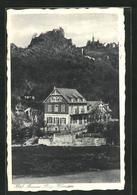 AK Hohenstein, Hotel Pension Burg Hohenstein Mit Kirche - Zonder Classificatie
