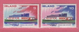 1973 **Islande  (sans Charn., MNH, Postfrish)  Yv  431/2Mi  478/9FA  515/6 - Neufs