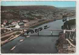 CPSM - 57 - NOVEANT - Nouveau Pont Du La Moselle - Gare - Péniches - Voir Verso Correspondance Habitant - France